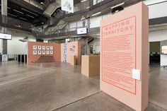 Mapping Territory exhibition design by studiohatoMarch 2014source: studiohato website