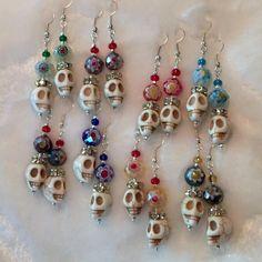 Bead Earrings, Bridal Earrings, Crystal Earrings, Crystal Beads, Faceted Crystal, Beaded Jewelry, Fine Jewelry, Handmade Jewelry, Jewelry Making