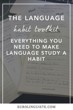 Despite several years of language learning under my belt, there's still one thing that I struggle with more than anything else. Consistency. Don't get me wrong – I love learning languages which is why I keep doing it over and over and over. Sometimes, life just gets in the way. Today, sitting down and studying is habitual. It feels weird to me if I don't... Keep Reading...
