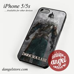 Dark Soul III Phone case for iPhone 4/4s/5/5c/5s/6/6s/6 plus
