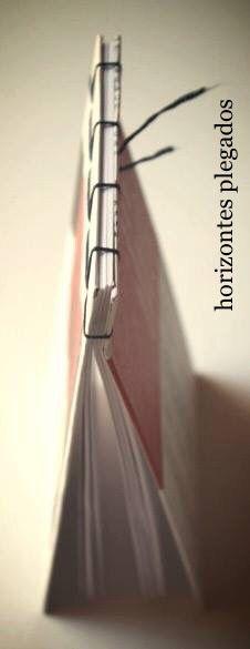 Cuaderno encuadernacion japonesa. Papel bl-80gr/m2. #horizontesplegados
