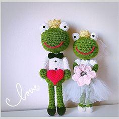 Ach, co to był za ślub...! #love #sweet #weeding #weedingdress #maz #zona #amigurumi #włóczaki #szydełko #crochet #kwiaty #slub #nazawsze #zabawki #upominek #instaweeding🎉😊😍 #instaweeding