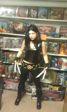 Oh ya know........just cosplaying as X-23 this weekend at FCBD.