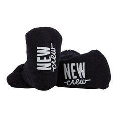 Inspirational/Quote Baby Socks (2  Styles) - NEW Crew