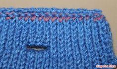 Петли для пуговиц на двойной планке от Anna Zilboorg.    МК.