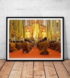 Excited to share the latest addition to my #etsy shop: Praying Monks Photo // Thailand Travel Photography Print, Asian Wall Art, Buddhist Temple, Asia Home Decor, Buddhism Religion, Chiang Mai http://etsy.me/2En3s4Z #art #photography #buddhism #thailand #travel #asia