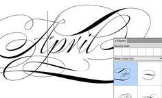 FontShop | Kontextbedingte Varianten aktivieren