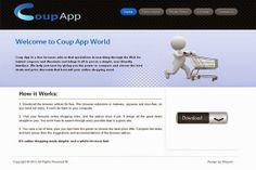 CoupApp Ads émerger dans votre navigateur web, par exemple, et dans notre cas à Chrome, mais il pourrait