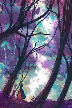 Foxfire: Lune's Forest byy Carolyn Gan