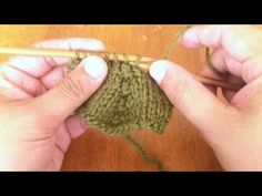 How to Knit the Purl Three Together Decrease (p3tog)   NEW STITCH A DAY
