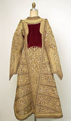 Wedding ensemble Date: late century Culture: Serbian Historical Costume, Historical Clothing, Kaftan, Ottoman, Mode Hijab, Folk Costume, Fashion History, Indian Dresses, Costume Design