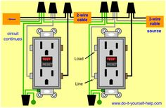 How to replace an electrical outlet for dummies diy household wiring diagrams for electrical receptacle outlets cheapraybanclubmaster Image collections