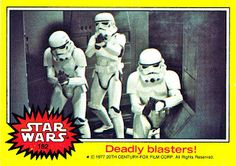 Topps Star Wars Trading Cards - Series 3