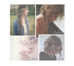 """""""Your Braid. -5sos-"""" by reydel ❤ liked on Polyvore featuring moda, 5sos, 5secondsofsummer i 5sospreference"""