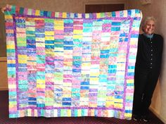 PugMom Quilts!: Salt Water Taffy by Marion, from November at the Cape