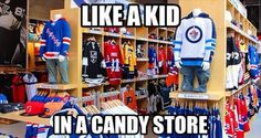 like a kid in a candy store...   I would never leave THAT candy store!!