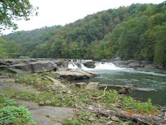 Valley Falls. Fairmont, West Virginia
