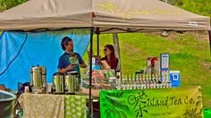 Cha Island Tea Company at Open Sky Music Festival 2012 @Spitmilk by SpitMilk Productions Canada, via Flickr