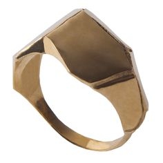 Parched Earth No.1, 14K Gold Ring
