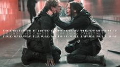 THG | Friend, Lover, Fiancee, Victor, Enemy, Target, Mutt, Ally