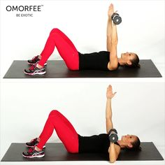 Did you know women also need chest exercises? Chest workout exercises for women help you uplift your breasts, tone your upper back & shoulders, improve your posture and give you that fit. One of the best chest exercise for women include: SINGLE ARM-CHEST PRESS lie on a flat surface. Extend your arm and dumbbell up toward the sky so that your arm is fully extended without locking your elbow. Bend your elbow to lower the dumbbell slowly and with control until it is near the outside of your…