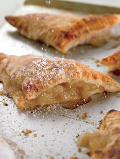 Crispy Apple Turnovers | The bf ate 5 before he made it into the living room!