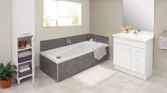 Dream Zone - Mitre10 - Make your bathroom better with a stylish bath tub!