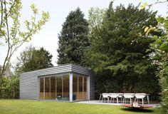 Tuinhuis door architect Joke van Kerschaver