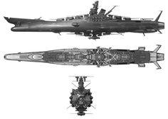 Space battleship Yamato (Space Battleship Yamato / Star Blazers) ... Leiji Matsumoto.