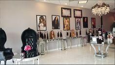 Trulygolden hair studio on tghs salon decor ideas inspiration beauty room decorating Boutique Decor, Hair Boutique, Beauty Boutique, Boutique Design, Boutique Ideas, Beauty Salon Decor, Beauty Bar, Beauty Shop, Hair Extension Shop