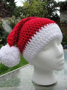 Ravelry: Santa and Santas Elves Hats pattern by Valerie Whitten