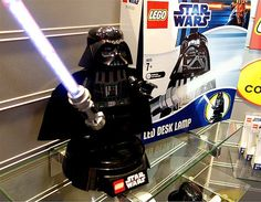 LEGO Star Wars night lights (© MSN)