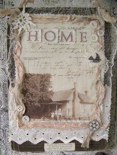 Would love to do this with history of my home...going to get photos from town hall from 1930's....