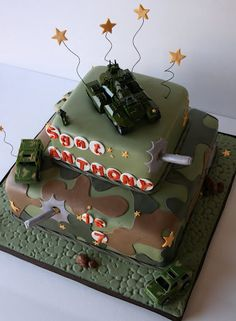camouflage cake pictures | Camouflage Cake | Flickr - Photo Sharing!