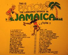 The language spoken in jamaica lesson 2 Jamaica Hotels, Jamaica Vacation, Jamaica Travel, Jamaica Jamaica, Jamaican Phrases, Jamaican Quotes, Jamaican Tattoos, Jamaican Patwa, Jamaican Slang