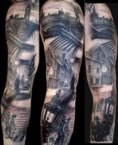 I wish I was from London....only to have this on my arm. Matteo Pasqualin is the tattoo artist by the way.