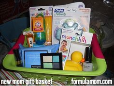 New Mom Gift Basket featuring Neutrogena #HealthyValue So easy to make! Great gift idea!