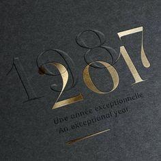 Black and gold embossed invitation design - Einladung Geburtstag - Typography Graphisches Design, Book Design, Design Homes, Design Editorial, Gold Foil Print, Design Graphique, Lettering, Sophisticated Wedding, Visual Identity