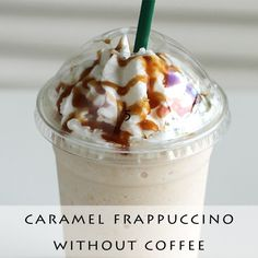 Forget about heading to Starbucks for coffee fix and make your own caramel Frappuccino at home! Caramel Frappuccino! Convenient homemade Starbucks fix at home. Icy Frappuccinos are the best summer treat.* Starbucks at home recipes are copycat clones, not Starbucks proprietyrecipes. Frappuccinos is one of the reasons we love summer!To make caramel Frappuccinos, just add …
