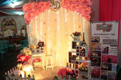 Backdrop photobooth wedding, ig @akasia_art