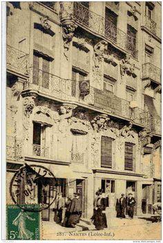 Nantes, immeuble 18è, quai de la Fosse