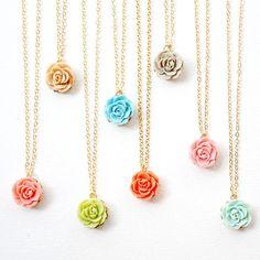Bridesmaids Jewelry Bridesmaids Necklaces by NestPrettyBrides, $210.00