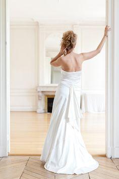 Robe  Liviana - Mary Viloteau - satin de soie
