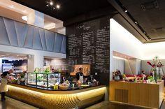 chociwski architekten » Yamm Shop Shops, Restaurant Bar, Liquor Cabinet, Storage, Graphics, Shopping, Furniture, Nice, Home Decor