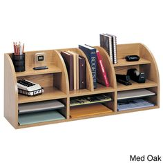 Safco Radius Front Desktop Organizer (9.75' x 38.5' x 15.25') - Overstock™ Shopping - Top Rated Safco Desk Organizers