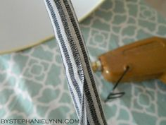 Genius!  I despise cords, but my techy husband has an abundance of them...this simple & cheap DIY no-sew cord cover is perfect!