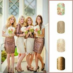 Jamberry Nail Wraps for your bridesmaids. Visit www.park.jamberrynails.net to shop!