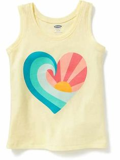 Shop fun graphic tees for your little girl at Old Navy. From various styles and designs, Old Navy is the only place you need to upgrade her wardrobe. Cute Baby Girl, Cute Babies, Rainbow Beach, Future Daughter, Daughters, Fashion Line, Maternity Wear, Old Navy, Infant