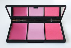 Sleek Blush By Three Palette (L-R: Candy Floss, Dolly Mix, Cupcake) MakeUP Candy Collection