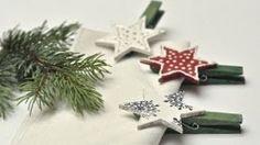 Klamerki świąteczne decoupage - jak zrobić prostą ozdobę stołu wigilijnego